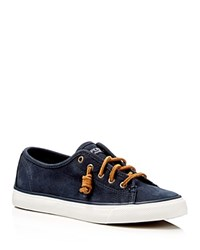Sperry Seacoast Lace Up Sneakers Navy