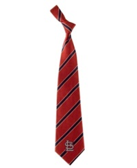 Eagles Wings St. Louis Cardinals Striped Tie