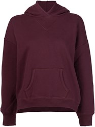 Simon Miller Classic Hoodie Red