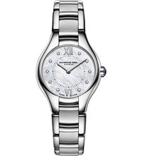 Raymond Weil 5124 St00985 Noemia Diamond Silver And Mother Of Pearl Watch Mother Of Pearl