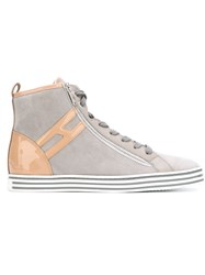 Hogan Rebel High Top Sneakers Grey