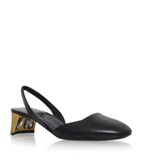 Gucci Arielle 45 Slingback Pump Female Black