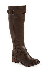 Andre Assous Andre Assous 'Roberta' Waterproof Riding Boot Women Cognac