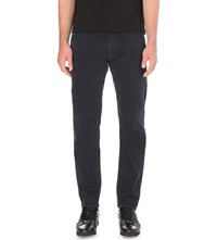 Z Zegna Slim Fit Staight Jeans Navy