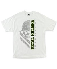 Metal Mulisha Men's Logo Graphic T Shirt Optic Whit