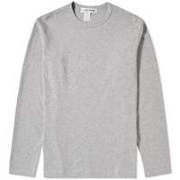 Comme Des Garcons Shirt Long Sleeve Classic Tee Grey