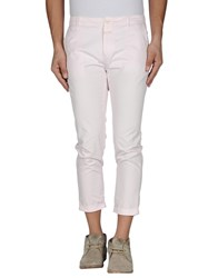 Closed Trousers 3 4 Length Trousers Men Light Pink