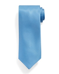 Stefano Ricci Micro Neat Pattern Silk Tie Light Blue