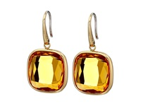 Michael Kors Botanicals Gold Single Blue Stone Drop Earring Gold Citrine Earring