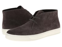 Vince Abe Graphite Sport Suede Men's Shoes Brown