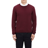 Tipped Cashmere Sweater Purple