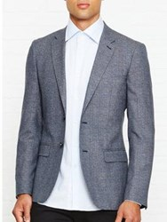 Reiss Morrow Slim Fit Blazer Indigo