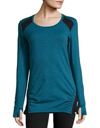 Marc New York Active Drawcord Top Blue