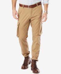 Dockers Alpha Athletic Fit Good Cargo Pants British Khaki