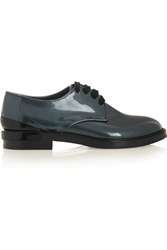 Casadei Softy Patent Leather Brogues