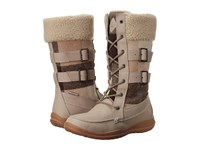 Kamik Addams Taupe Women's Lace Up Boots