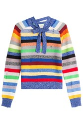 Marc Jacobs Striped Cashmere Pullover Multicolor