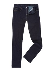 Religion Noize Dark Blue Skinny Fit Jeans Denim Dark Wash