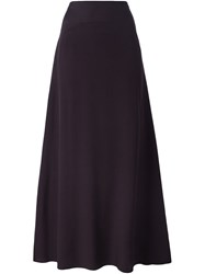 Kenzo A Line Maxi Skirt Pink And Purple