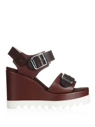 Chrissie Morris Ida Leather And Suede Sandals