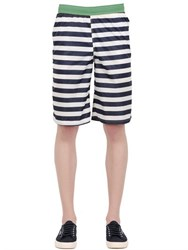 Invicta Striped Nylon Swimming Boardshorts