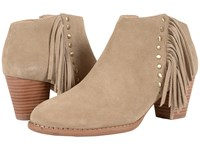 Vionic Upright Faros Fringe Boot Light Tan Women's Pull On Boots