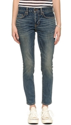 6397 Slouchy Skinny Jeans Dirty Blue