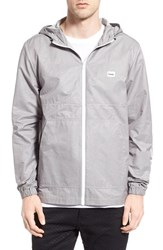 Men's Barney Cools 'Og Spray' Coated Hooded Zip Jacket