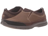 Dockers Garvey Brown Tumbled Nubuck Men's Slip On Shoes