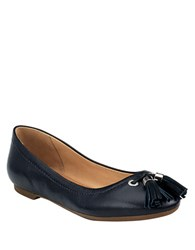 Sperry Bliss Leather Flats Black