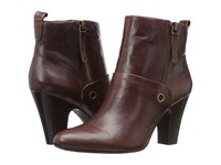 Nine West Gowithit Brown Leather Women's Boots