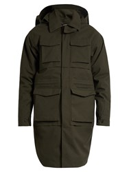 Norwegian Rain Hybrid Technical Military Parka Green Multi