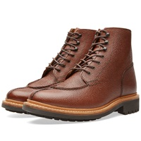 Grenson Grover Boot Brown Grain Leather