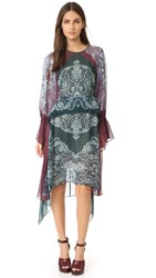 Bcbgmaxazria Addilyn Dress Elm Combo