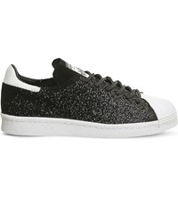 Adidas Superstar 80S Primeknit Trainers Black Crystal White