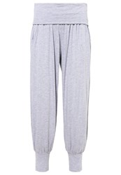 Deha Tracksuit Bottoms Grey Melagne Mottled Grey