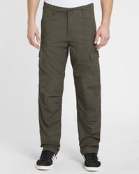 Carhartt Green Columbia Elasticated Regular Fit Cargo Trousers
