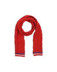 Gant By Michael Bastian Accessories Oblong Scarves Men Red