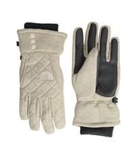 The North Face Caroluna Etip Glove Tnf Oatmeal Heather Extreme Cold Weather Gloves Beige