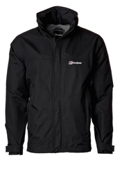 Berghaus Rg1 Shell Waterproof Jacket Black