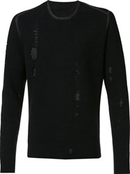 Label Under Construction 'Lunar' Jumper Black