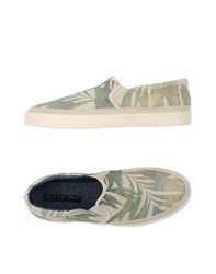 Napapijri Footwear Low Tops And Trainers Men Military Green