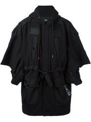 Ktz 'Pointy Sleeve' Jacket Black