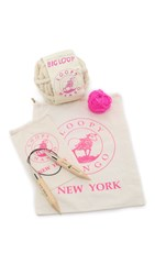 Gift Boutique Loopy Mango Bunny's Tale Hat Diy Kit Ivory Hot Pink
