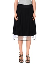 Veronique Branquinho Skirts Knee Length Skirts Women Black