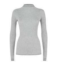 Escada Sport Shuyan Lurex Turtleneck Female Light Grey