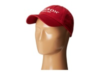 Chino Cap Filson Guide Red W White Emb Caps