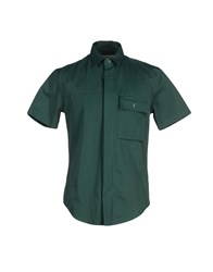 Band Of Outsiders Shirts Shirts Men Green