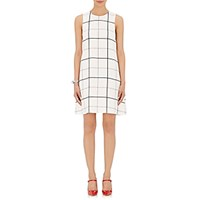 Lisa Perry Women's Crepe Sleeveless A Line Dress No Color