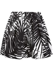 Marc Jacobs Foliage Print Shorts Black